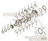 【发动机6CT8.3-GM115的缸体组】 康明斯曲轴止推瓦报价,参数及图片