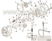 【机油泵】康明斯CUMMINS柴油机的3014961 机油泵