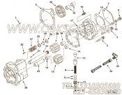 【适配器弯头】康明斯CUMMINS柴油机的S 1047 A 适配器弯头