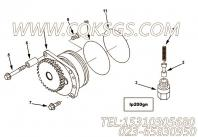 3895440螺栓,用于康明斯M11-C290柴油机机油泵组,更多【特雷克斯矿用自卸车】配件报价