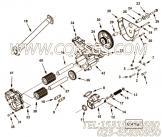 【机油泵轴】康明斯CUMMINS柴油机的4099229 机油泵轴