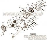 【机油泵轴】康明斯CUMMINS柴油机的3029686 机油泵轴