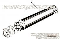 【排气消声器】康明斯CUMMINS柴油机的161838 排气消声器