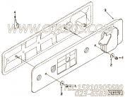 【发动机6CTA8.3-C230-?的中冷器管路组】 康明斯夹紧板报价,参数及图片