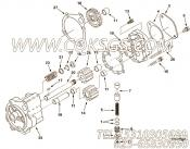 3015272机油泵及安装,用于康明斯NTCR-290柴油机基础件组,更多【XZ680定向钻机】配件报价