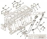3883088手孔盖,用于康明斯M11-C175柴油机加油口布置组,更多【上海汇众牵引车】配件报价