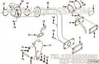 3895109手孔盖RSF,用于康明斯M11-C290发动机加油口位置及手孔盖组,更多【特雷克斯矿用自卸车】配件报价