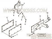 3632754普通软管,用于康明斯KTA38-M1柴油发动机曲轴箱通风器组,更多【船舶】配件报价
