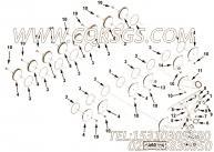 【柴油机B170 30的离合器组】 康明斯六角头螺母报价,参数及图片