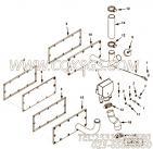 3039438机油尺,用于康明斯KT38-G柴油发动机机油尺组,更多【动力电】配件报价