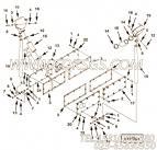 3178477手孔盖安装,用于康明斯KT38-M800主机机油尺组,更多【轮船用】配件报价