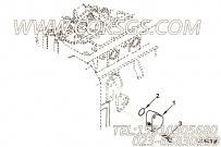 【引擎6BTAA5.9-C130的缸体加油附件组】 康明斯六角法兰面螺栓报价,参数及图片