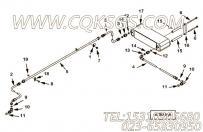 【柔性软管】康明斯CUMMINS柴油机的2866711 柔性软管