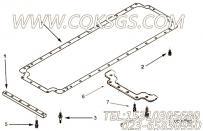 4026354带垫螺栓,用于康明斯NTA855-G4动力机油盘组,更多【柴油发电】配件报价