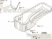 【引擎6BTAA5.9-C130的油底壳组】 康明斯机油吸油管总成报价,参数及图片