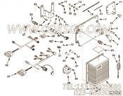 【传感器支架】康明斯CUMMINS柴油机的3060484 传感器支架