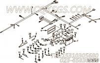 【柴油机QSZ13-G3的曲轴箱通风组】 康明斯扎带固定夹报价,参数及图片