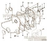 【齿轮罩】康明斯CUMMINS柴油机的3905469 齿轮罩