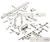 【接线托架】康明斯CUMMINS柴油机的3607781 接线托架