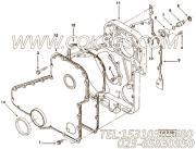 【齿轮罩】康明斯CUMMINS柴油机的3918454 齿轮罩