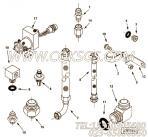 【适配器T形】康明斯CUMMINS柴油机的3171381 适配器T形