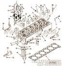 【阀弹簧】康明斯CUMMINS柴油机的4965891 阀弹簧