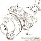 【涡轮增压器】康明斯CUMMINS柴油机的4042411 涡轮增压器