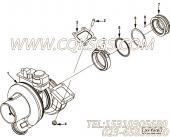 【涡轮增压器】康明斯CUMMINS柴油机的4047350 涡轮增压器