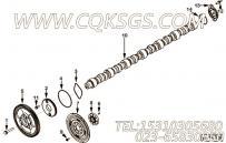 【凸轮轴】康明斯CUMMINS柴油机的3685963 凸轮轴