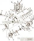 【涡轮增压器压气机叶轮】康明斯CUMMINS柴油机的3593629 涡轮增压器压气机叶轮
