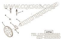 【凸轮轴】康明斯CUMMINS柴油机的3102901 凸轮轴