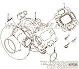 【套件和组件】康明斯CUMMINS柴油机的4955211 套件和组件