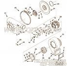 【涡轮增压器压气机叶轮】康明斯CUMMINS柴油机的3590382 涡轮增压器压气机叶轮
