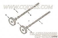 【凸轮轴】康明斯CUMMINS柴油机的3028693 凸轮轴