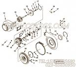 【涡轮增压器组件】康明斯CUMMINS柴油机的4025146 涡轮增压器组件