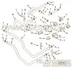 3066349输水管,用于康明斯KTA38-M1动力性能件组,更多【轮船用】配件报价