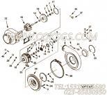 【涡轮增压器止推轴承】康明斯CUMMINS柴油机的3531532 涡轮增压器止推轴承