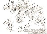3031929中冷器支座,用于康明斯KT38-P780发动机性能件组,更多【应急水泵机组】配件报价