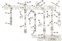 3630734三通接头,用于康明斯KTA38-C1050发动机性能件组,更多【军品车】配件报价