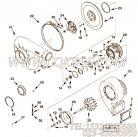 【压气机壳体】康明斯CUMMINS柴油机的4045418 压气机壳体