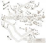 【调水连接】康明斯CUMMINS柴油机的3633123 调水连接