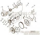 【涡轮机壳体】康明斯CUMMINS柴油机的3593032 涡轮机壳体