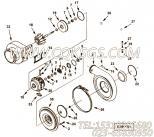 【涡轮增压器】康明斯CUMMINS柴油机的4035739 涡轮增压器