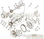【涡轮增压器】康明斯CUMMINS柴油机的4040073 涡轮增压器