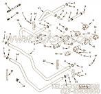 【外螺纹接头】康明斯CUMMINS柴油机的3066467 外螺纹接头