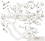 3066352输水管,用于康明斯KTA38-M1动力性能件组,更多【船机】配件报价