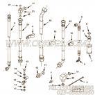 3632028软管,用于康明斯KTA38-C1050柴油发动机性能件组,更多【内一机推土机】配件报价