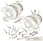 【涡轮增压器】康明斯CUMMINS柴油机的4047294 涡轮增压器