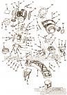 【涡轮增压器支架】康明斯CUMMINS柴油机的4978343 涡轮增压器支架