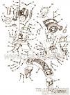 【涡轮增压器支架】康明斯CUMMINS柴油机的2862828 涡轮增压器支架
